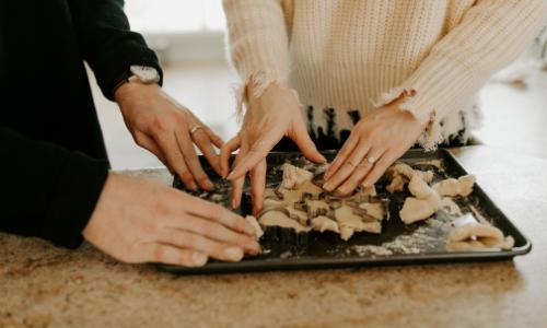 recette de sables de noel