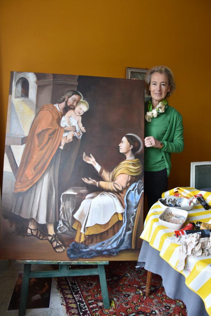 peinture sainte famille Nantes