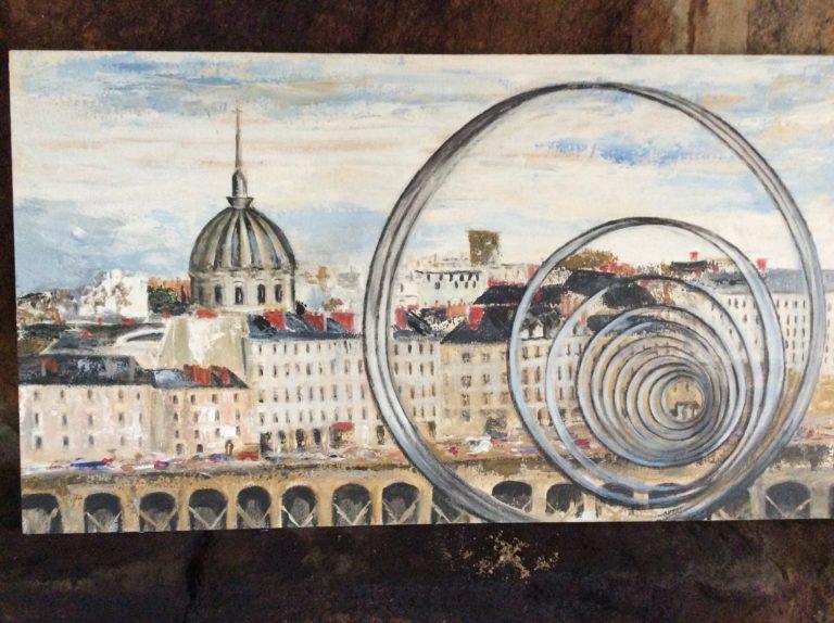 peintre anneaux de burin Nantes